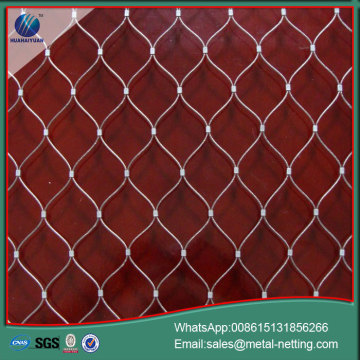 zoo mesh stainless steel rope netting