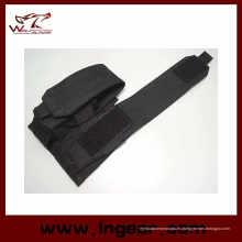 M4 Tactical Airsoft Molle bolsa del compartimiento doble negro