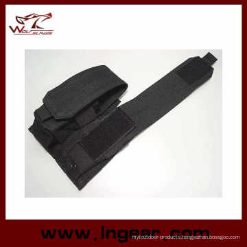 M4 Tactical Airsoft Molle Double Magazine Pouch Black