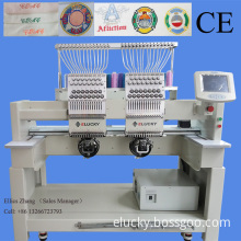 High Speed Embroidery Machine for Cap/Flat/Shoes/Cross-Stitch/Towel Embroidery