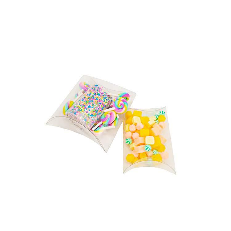 Clear Plastic Pillow Box