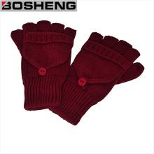 Перчатки без пальцев с крышкой рукавицы