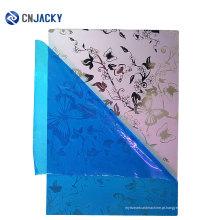 Tamanho A4 tipo fosco cartão de PVC laminação chapa de aço padrão