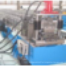 Máquina de moldagem de rolo de porta de obturador de rolo de metal com corte hidráulico
