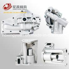 Chinesisch Exporting Superior Qualität First-Rate Fein verarbeitete Aluminium Automotive Druckguss-Öl-Ventil
