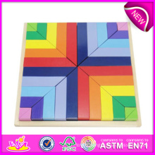 2014 Educational New Wooden Block Puzzle Toys, High Quality Block Puzzle Toys, Hot Sale Wooden Block Puzzle Toys W13A044