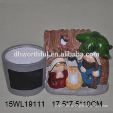 Plantador de cerámica personalizado, plantador de flores de cerámica, macetas de cerámica para la venta al por mayor