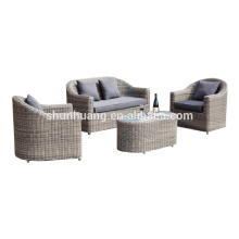Hot sale outdoor furniture rattan garden sofa set leisure 4pcs