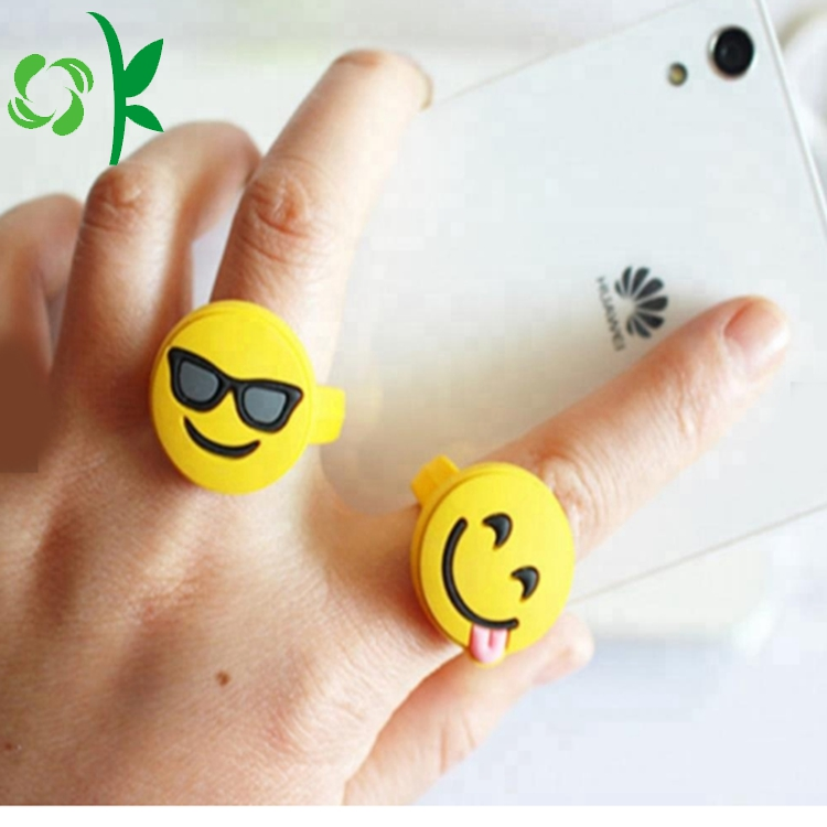 Yellow Silicone Kids Ring