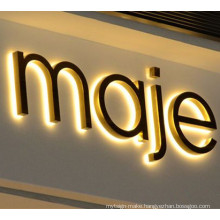 3D Letter Sign and Resin Signages LED Channel Sign Neon Sign