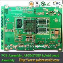 PCB / PCBA / SMT / DIP / PTH One station EMS Service Manufacturer multicapa pcb