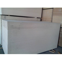 MDF de cor branca com alta qualidade