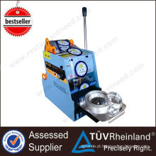 Equipamento de restaurante Bubble Tea Plastic Lid Sealing machine