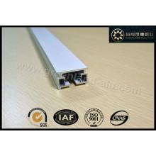 Trilho de cabeça de perfil de alumínio para persianas elétricas de cortina automotiva
