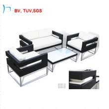 H-Hot Sell Outdoor Wicker Furniture Rattan Sofa Set