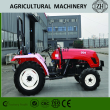 Pertanian 4WD 50HP Compact Wheeled Farm Tractors