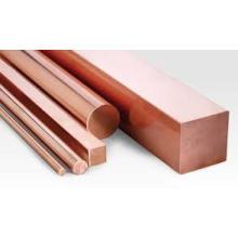Barres de bus en cuivre / bonne conductivité électrique pour barres de cuivre / barres de cuivre carré