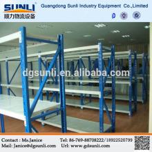 Feito em China armazenamento prateleira de aço para o armazém