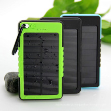 Carregador solar impermeável 12000mAh Bateria de reserva de banco de energia