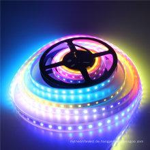 Beleuchtung 3.2ft / 1M WS2812 5050 RGB Digital LED-Streifen weiße PWB 60leds / M imprägniern Streifen IP67 DC5V LED