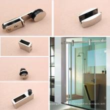 Enceintes de système de porte coulissante en verre standard à 180 degrés