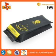Plástico laminado chino personalizado de impresión de papel de aluminio bolsa de café al por mayor 250g