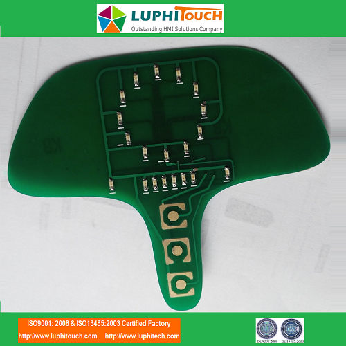 LEDs Backlighting PCB Circuit Treadmill Membrane Keypad