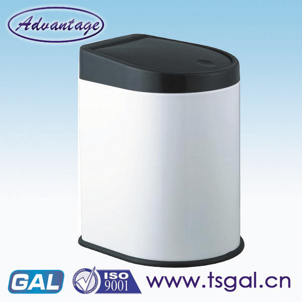 wall-mounted litter bin