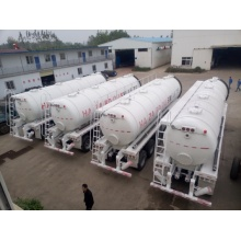 3Axle 26000L Sewage Vacuum Suction Tanker Semi Trailer