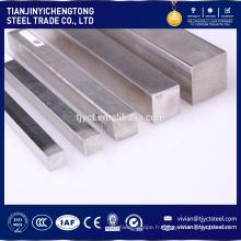 Barre carrée en acier inoxydable AISI 304 316L de haute qualité
