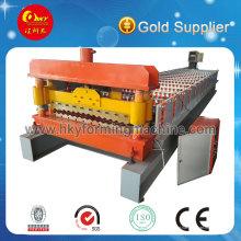 Máquina formadora de telha de aço colorida e painel de aço