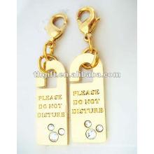 fashion mini lock mobile phone straps