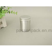 Lata de lata de alumínio do chá de 100ml com tampa do parafuso (PPC-AC-055)