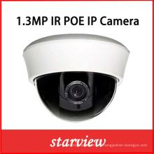 1.3MP cámara de interior de la bóveda de la IP de la seguridad del CCTV del IR del plástico (DH1)