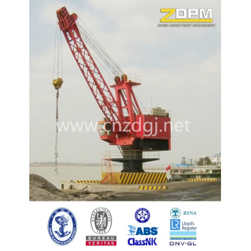 Single Beam Shipyard Fixed Port Crane