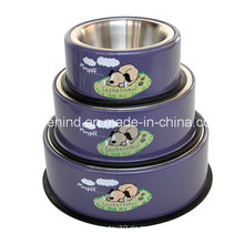 Haustier Abnehmbare Schüssel, Yapee Hund Druck Schüssel