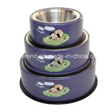 Boîte amovible pour animaux de compagnie, bol d'impression pour chien Yapee