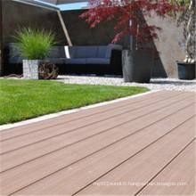 Plancher de WPC facilement assemblé pour la décoration extérieure