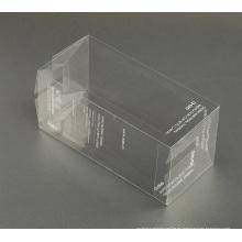 Impresión de seda caja de embalaje plástica de encargo del PVC / PP / PET (paquete del regalo)