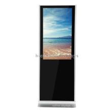 Обычай Торговый Центр Напольных Покрытий Самостоятельных Бесплатный Дизайн Металлический Сенсорный Экран ЖК-Дисплей Рекламы Стенда