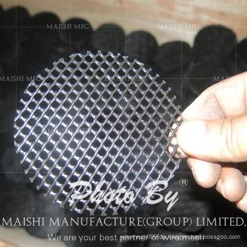 Round Sheet Black Plastic Net für Blumentopf