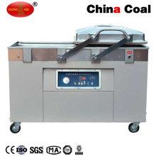 Dzq500-2sb Sellador de vacío para alimentos comercial de doble cámara