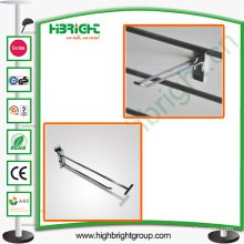 Supermarket Chromed Double Wire Display Hook