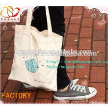 Printed Fashion Cotton Bag,Recyclable Standard Size Cotton Canvas Tote Bag,Wholesale Cotton Shopping Bag