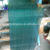 12mm thk clear tempered glass for tempered glass door