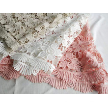 Fancy Polyester Chemical Lace for Woman Dress