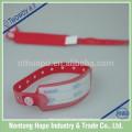 Wasserdichte medizinische Einweg billige ID Armbänder