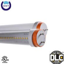 5 лет гарантии 100lm 22W T8 ul dlc двухсторонняя светодиодная трубка