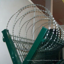 450mm Diameter Galvanized Razor Barbed Wire