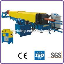 Passed CE and ISO YTSING-YD-6648 PLC Automatic Control Downspout Pipe Roll Forming Machine